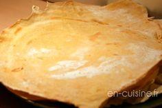 Recette tortillas de maïs maison au Thermomix