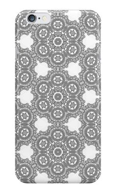 Silver Lace Pattern by bubbliciousart