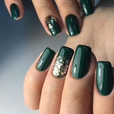 nail art designs for winter & nail art designs ; nail art designs for spring ; nail art designs for winter ; nail art designs with glitter ; nail art designs with rhinestones Xmas Nails, Holiday Nails, Prom Nails, Christmas Manicure, Christmas Nails Colors, Simple Christmas Nails, Christmas Nails 2019, Holiday Nail Colors, New Nail Colors