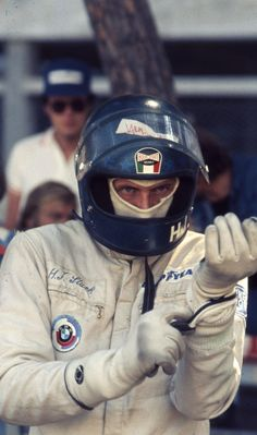 "-Hans-Joachim Stuck, nicknamed ""Strietzel"", is a German racing driver who has competed in Formula One and many other categories. He is the son of the legendary Hans Stuck. As a young boy, his father taught him driving on the Nürburgring."