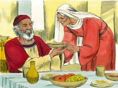 Free Bible images: God promises Zechariah and Elizabeth a son but ...