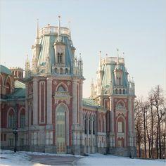 Grand Tsaritsyno Palace, by Matvey Kazakov, Moscow
