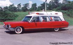 1965 Superior Pontiac Ambulance