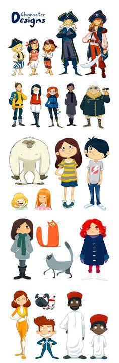 Diseño de Personajes - Oriol Vidal