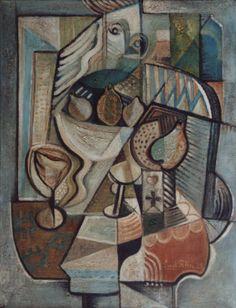 Emil Filla, czech cubist painter