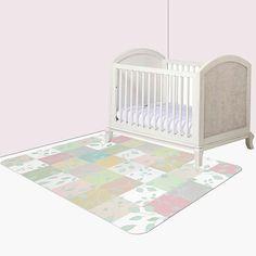 Toddler Rug Nursery Floor Mat Decor Dorm Large Playroom