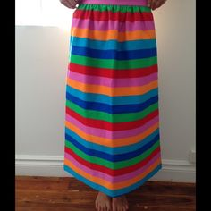 Valentino rainbow skirt (new!) Rainbow skirt from Valentino, collection summer 2015. Absolutely new, without tags. Valentino Skirts Midi