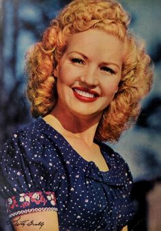 Betty Grable- class act!