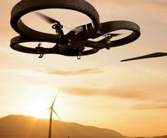 The Parrot AR.Drone is the first quadricopter that can be controlled by a smartphone or tablet. spenditonthis.com