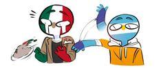 Multishipper en Countryhumans - ArgMex - Page 2 - Wattpad Humans Meme, Mundo Comic, Wattpad, Fandom, Country Art, Cool Countries, Hetalia, Jikook, Kawaii Anime