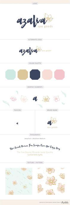 Luxury bath and body brand design by Aeolidia
