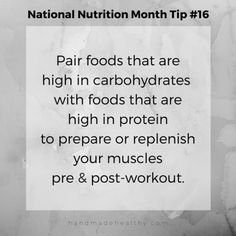 National Nutrition Month Tip #16