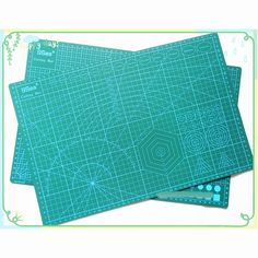 PVC Cutting Mat a3 45*30cm 9 Sea Durable Self Healing Handmade DIY Quilting Accessories Flexible Green Patchwork Board Plotter