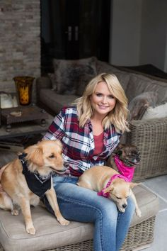 """""""When an animal finds a forever home, it's not just life-changing for the animal, but for the family that gets to receive the unconditional love that animals give. It means so much to me to be a part of that process."""" - Miranda Lambert, whose MuttNation Foundation just provided grants for 50 shelters in 50 states!"""