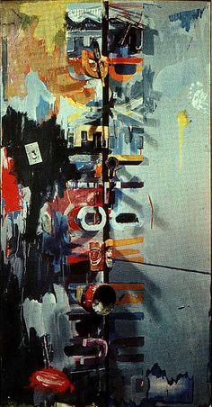 Field Painting, by Jasper Johns