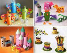 MASSER AF IDEER Kreativ, hobby, tidsfordriv eller bare ren hygge, kært barn har mange navne :) :): Kreativ med.... tjaa toiletruller :D