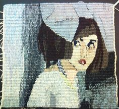 You Know Me Better, woven tapestry by Mardi Nowak by miss mardi, via Flickr