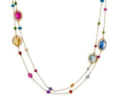 Dana Kellin | Long Mixed Jewel Necklace in Necklaces Beads at TWISTonline