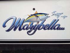 Photos Of The Fountain 35 Graphics We Installed On This Boat Coastalsign Design Fountain35 Lbi Nj Fun