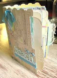 Heidi Swapp Vintage Chick Travel/Beach Trip Mini Album