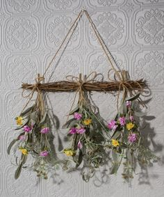 Look at this Dried Herb Bunches Wall Décor on #zulily today!