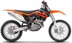 2014 KTM 350 Motocross Bike