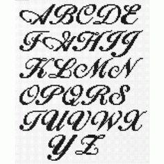 Cross Stitch Alphabet |