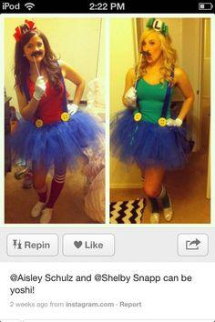 Mario and lugi costumes