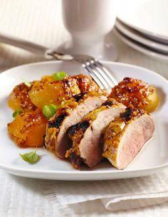 Pieczone z mięsem