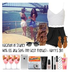 """""""Vacation in Sydney with Els and Soph (my best friends) - Harry's girl"""" by jaynnelinsstyles ❤ liked on Polyvore"""