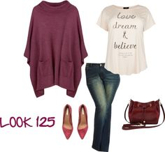 MAS TENDENCIAS BCN: Look 125 - Otoño Casual - Lunes con color