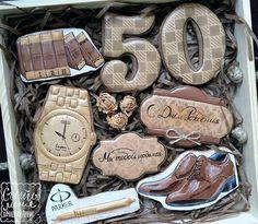 Gentleman cookies 50th