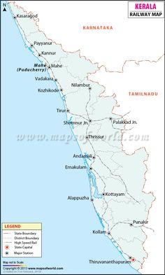 Kerala Railway Map Pdf