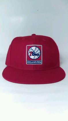 Philadelphia 76ers 47 twins snapback nba red mens adj  #NBA #BaseballCap