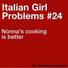 Italian girl problems...Nonno in my case...Lol