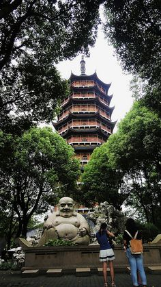go to Pagoda in Suzhou China {portland sister city in 1988 for lan su chinese garden}