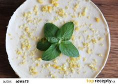 Citrónový RAW dort Vegan Cheesecake, Hummus, Ethnic Recipes, Food, Cakes, Lemon, Cake Makers, Essen, Kuchen