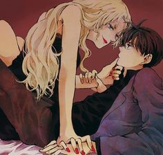 Vermouth and Shinichi