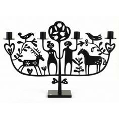 ADAM & EVE CANDLE HOLDER BIG