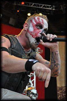 This band isn't afraid of anything. We will go out there, sweat, bleed and play our hearts out... That's everything I've looked for my entire life in a band. - Ivan Moody