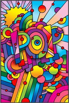 Pop Art POP by Howie Green