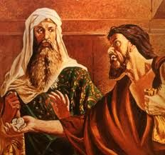 """March 23rd - Matthew 26:14-25: One of the Twelve, who was called Judas Iscariot, went to the chief priests and said, """"What are you willing to give me if I hand him over to you?"""" They paid him thirty pieces of silver, and from that time on he looked for an opportunity to hand him over."""