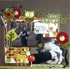 Hilde Janbroers Scrapbook Sketches, Scrapbook Pages, Scrapbooking, Scrapbook Layouts, Crackle Painting, Beautiful Notes, Image Layout, Clear Stamps, How To Introduce Yourself