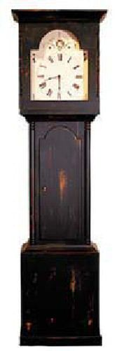 Painted Wood Country Georgian Grandfather Clock Antique European Reproduction | eBay