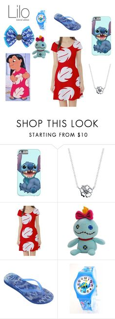 """Lilo~ DisneyBound"" by basic-disney ❤ liked on Polyvore featuring Disney and Havaianas"