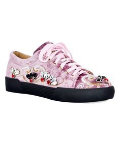 0a0444aef3a Jacobies Footwear Blush Crystal Vaness Sneaker - Women