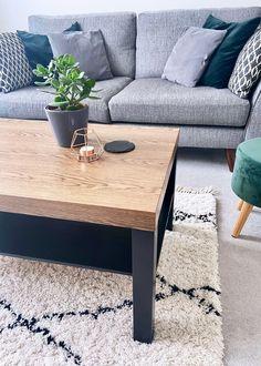 DIY // IKEA LACK TABLE INDUSTRIAL HACK — ISOSCELLA