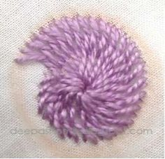 This and that...my random thoughts: Chemanthy Work-An Indian embroidery method tutorial