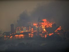 AP CALIFORNIA WILDFIRES A WEA USA CA California Wildfires, Land Use, Pretty Pictures, Seattle Skyline, Climate Change, Westerns, Facts, Usa, Summer