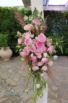 Gisela - Αποξήρανση ανθοδέσμης Wedding Decorations, Floral Wreath, Wreaths, Plants, Home Decor, Floral Crown, Decoration Home, Door Wreaths, Room Decor